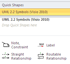 Update Log for Visio Stencil and Template for UML 2 2